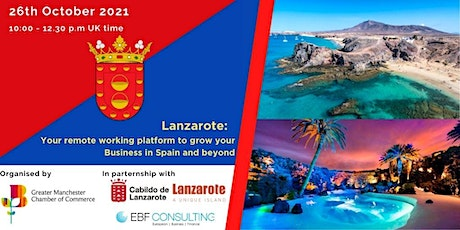 Lanzarote:  Your Remote Working Platform to Grow your Business in Spain tickets