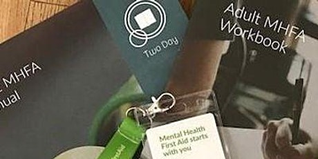 Accredited Online Mental Health First Aid Training tickets