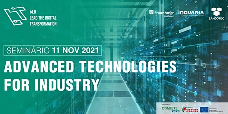 Advanced Technologies for Industry tickets