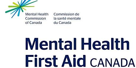 Mental Health First Aid - November 2021 tickets