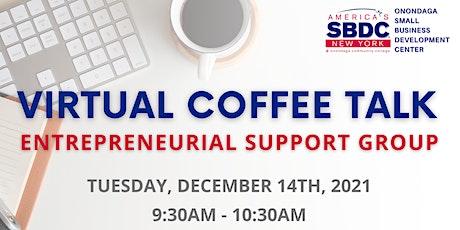 December SBDC Virtual Coffee Talk tickets