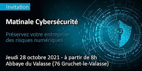 Matinale cybersécurité // préservez votre entreprise des risques numériques billets