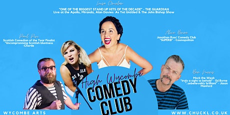 High Wycombe Comedy Club with Headliner Luisa Omielan tickets