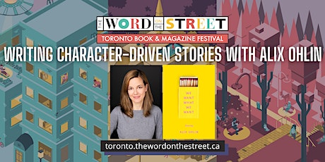 Workshop: Writing Character-Driven Stories with Alix Ohlin tickets