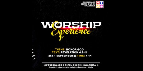 Worship Experience tickets