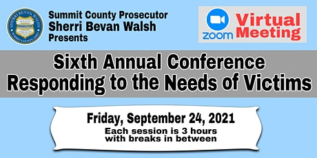 Sixth Annual Responding to the Needs of Victims Conference biglietti