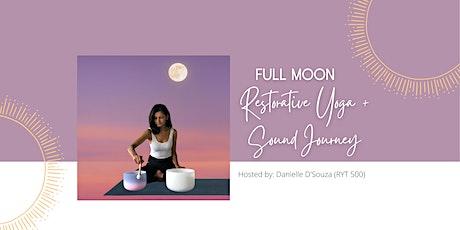 October Full Moon - Restorative Yoga + Sound Journey tickets