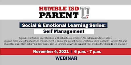 Social & Emotional Learning Series: Self Management biglietti