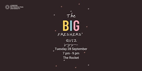 The BIG Freshers Quiz tickets
