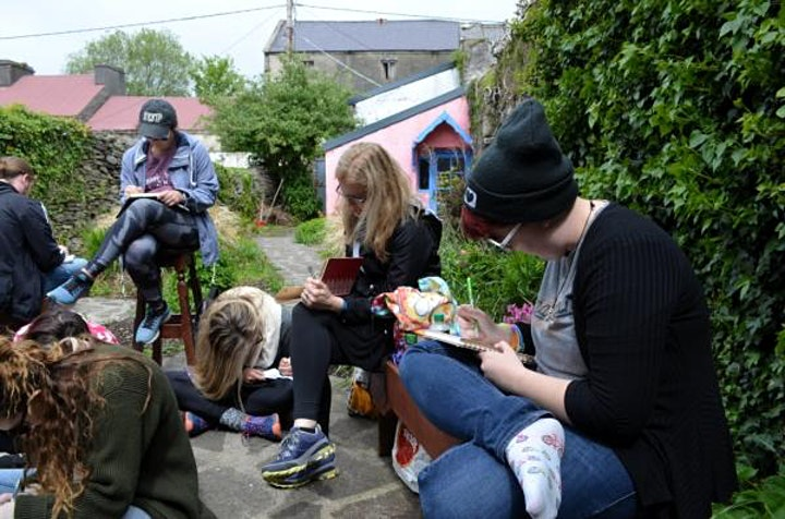 Salmon Poetry Nature Writing Workshop. Facilitated by Jessie Lendennie image