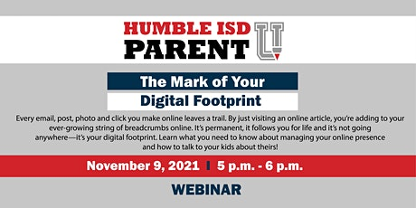 The Mark of Your Digital Footprint tickets