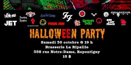 HALLOWEEN PARTY À LA RIPAILLE AVEC  ALTER-NATION tickets