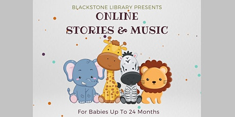 Online Stories & Music for babies through 24 months tickets