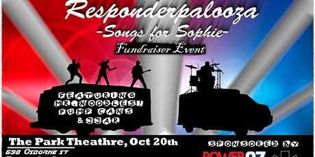Responderpalooza - Songs for Sophie - A Charity Ev tickets