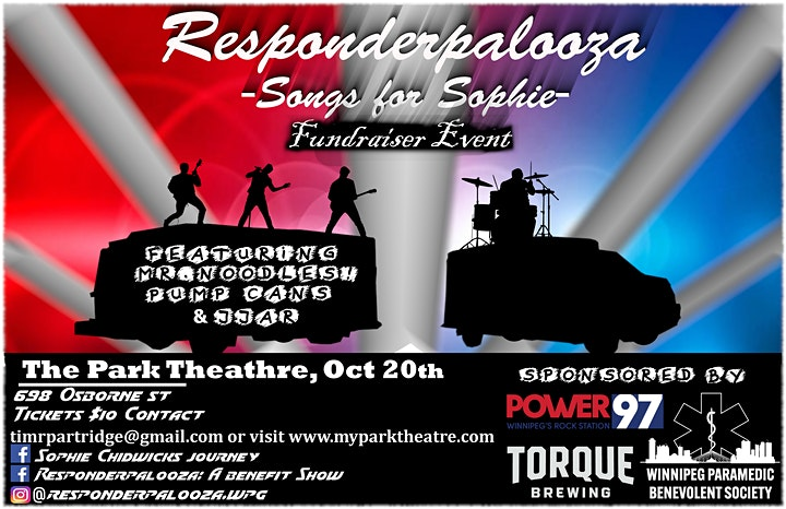 Responderpalooza - Songs for Sophie - A Charity Ev image