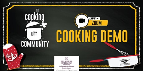Cooking with Community - Cinnamon Rolls tickets