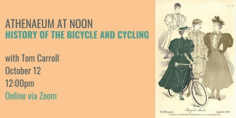 History of Bicycles and Cycling tickets