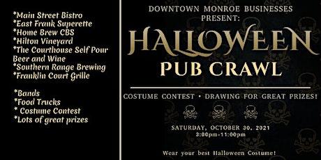 Halloween Pub Crawl: Monroe NC tickets