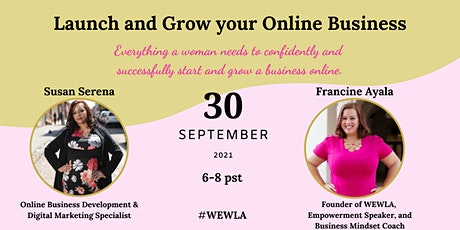 Launch and Grow your Online Business tickets