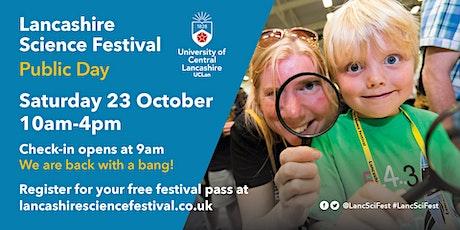 Lancashire Science Festival Pass 2021 tickets