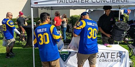 Tampa Bay Buccaneers  vs Los Angeles Rams Tailgate Party on 9/26/21 tickets