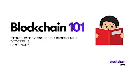 Blockchain 101 tickets