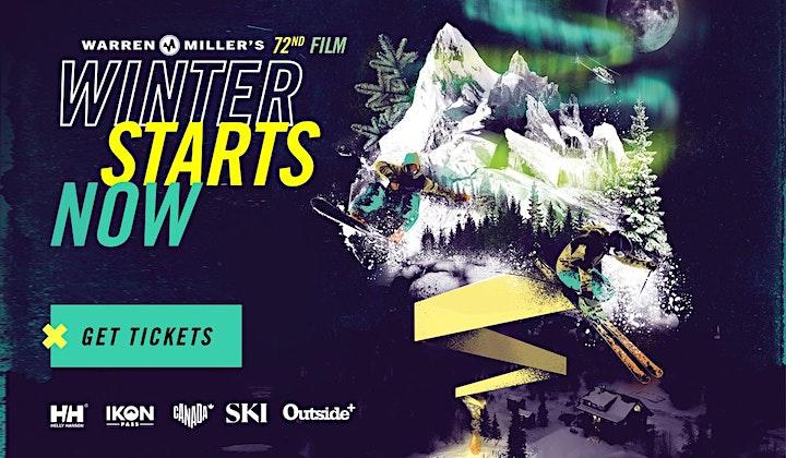 """Warren Miller's """"Winter Starts Now"""" Film Screening Event image"""