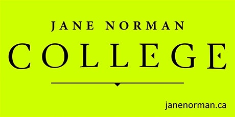 Jane Norman College - Capable, Confident & Curious Module 5 tickets