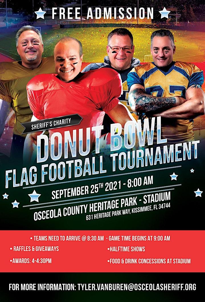 Donut Bowl - Flag Football Tournament image