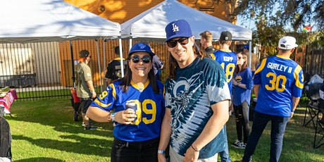 San Fransisco 49ers vs Los Angeles Rams Tailgate Party on 1/9/22 tickets