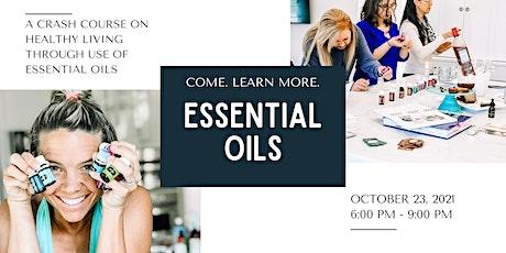 Speed Oil - an essential oil wellness event tickets