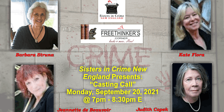 """""""Casting Call"""" - How to Create Compelling Characters tickets"""