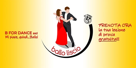 Corso di BALLO LISCIO prenotazione prova gratuita a Meda il 17/9 alle 21.00 biglietti