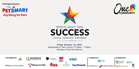 Spotlight on Success Local Heroes Awards tickets