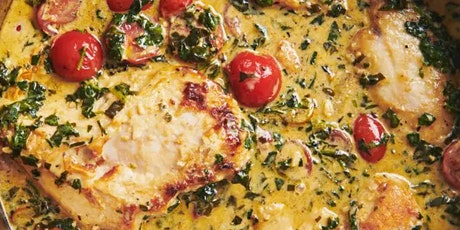 UBS - Virtual Cooking Class: One-Skillet Creamy Tuscan Chicken tickets