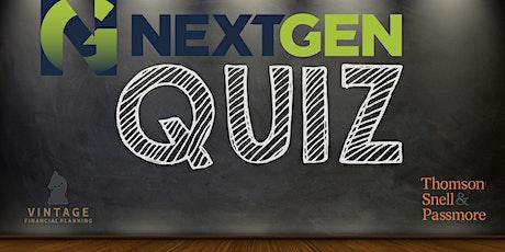Next Generation Quiz Night tickets