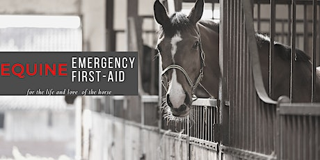 Equine Basic and Advanced First Aid tickets