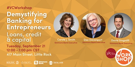 Demystifying Banking for Entrepreneurs tickets