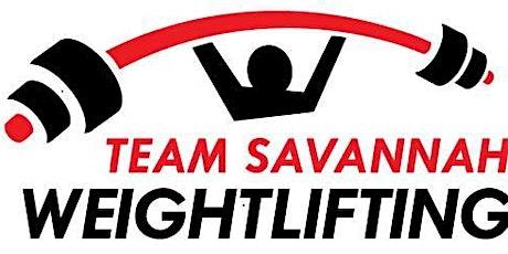 Savannah Open Weightlifting tickets