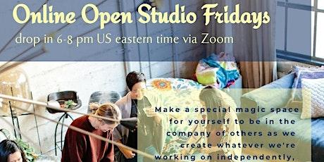 Open Studio Fridays (Online, Family-Friendly) tickets
