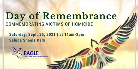Day of Remembrance:  Commemorating Victims of Homicide tickets