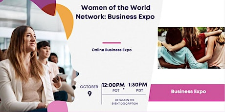 Women of the World Network™: Business Expo tickets