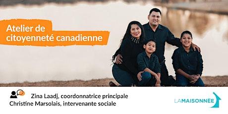Atelier de citoyenneté canadienne billets