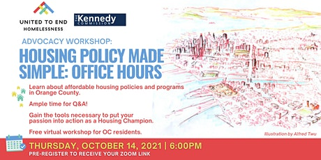Housing Policy Made Simple: Housing First (Virtual Workshop) tickets