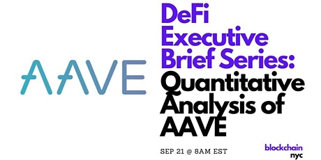DeFi Executive Series: Quantitative Analysis of AAVE tickets