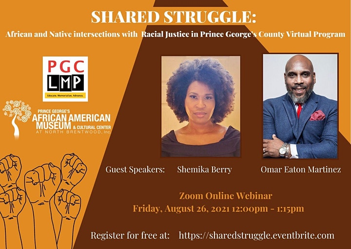 Shared Struggle:  African and Native intersections with Racial Justice image