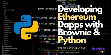 Developing Ethereum Dapps with Brownie & Python tickets