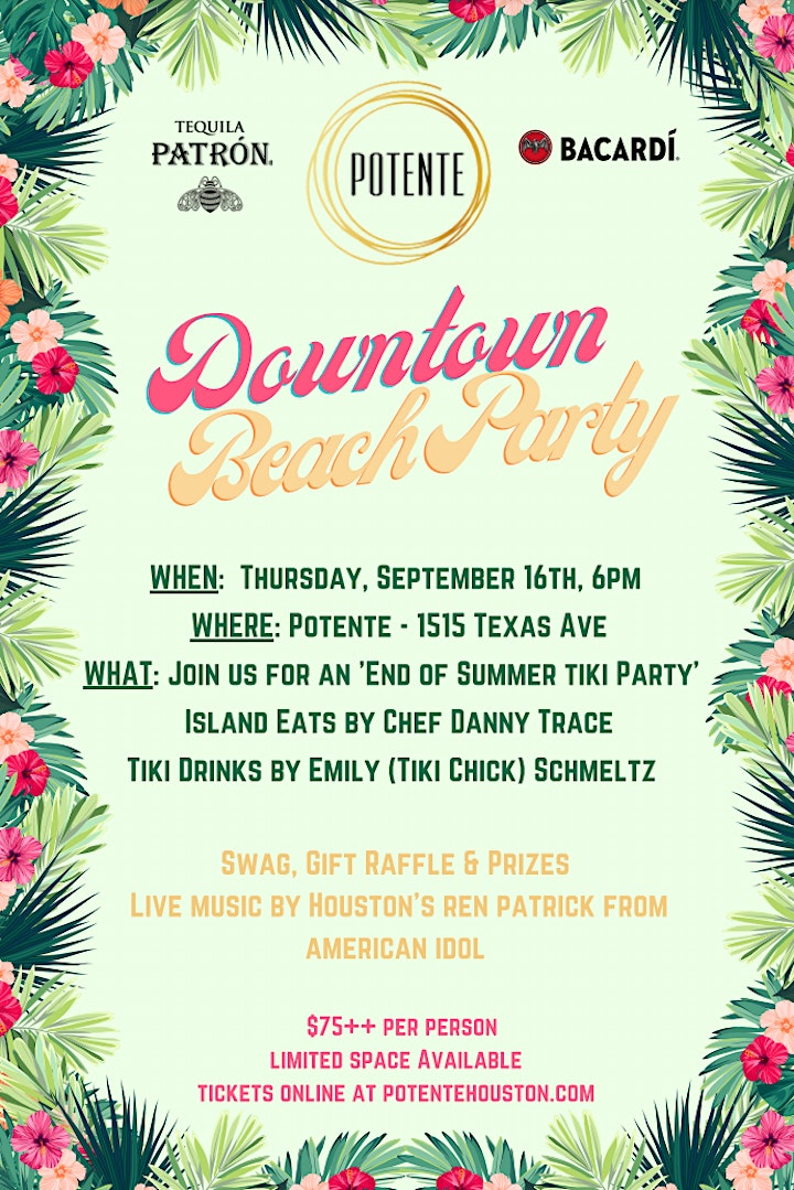 Downtown Beach Party image