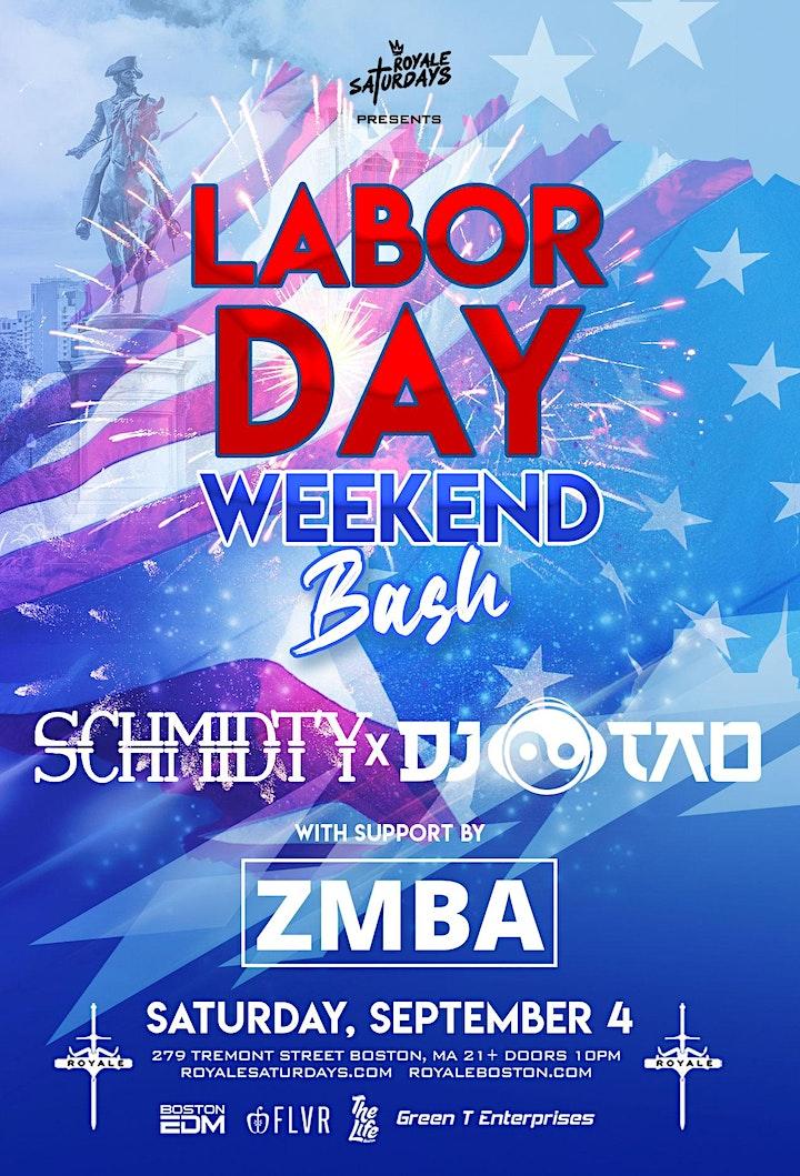 Labor Day Weekend Bash   Royale Saturdays   9.4.21   10:00 PM   21+ image