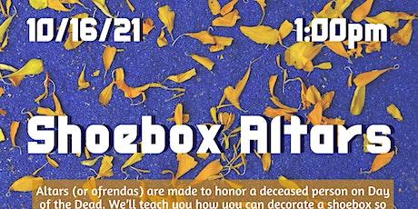 Shoebox Altars (NEA Big Read: Nacogdoches) tickets